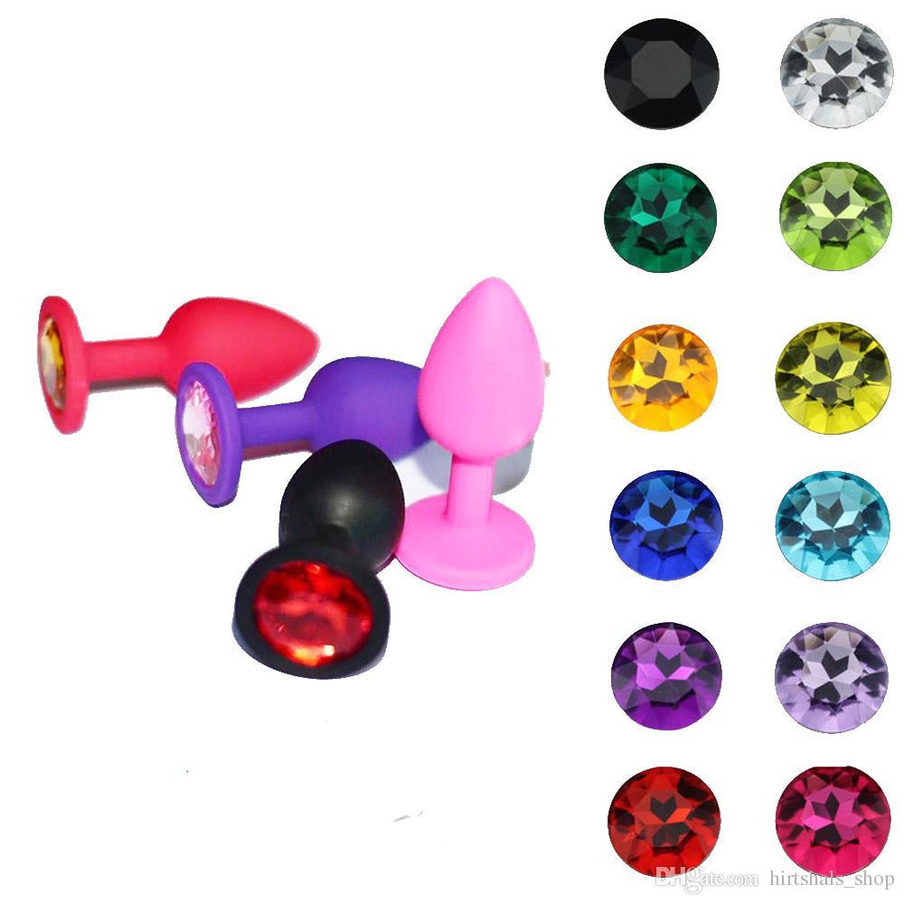 Силиконовый маленький размер S анальная пробка анальный шарик секс игрушки для взрослых бесплатная доставка