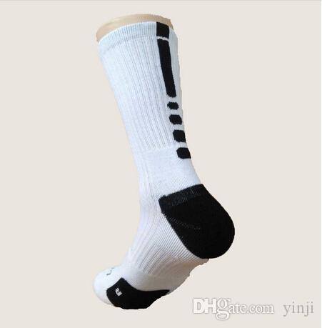 Calcetines de baloncesto Elite profesional de EE. UU. Calcetines deportivos largos hasta la rodilla Calcetines deportivos de compresión para hombres Calcetines térmicos de invierno para hombres al por mayor