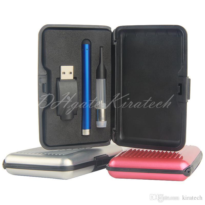 CE3 Cartridge vaporizer starter kit vape cigar 510 bud touch pen e cig kits electronic cigarettes vapes smoking ecigs gift box pack dhl