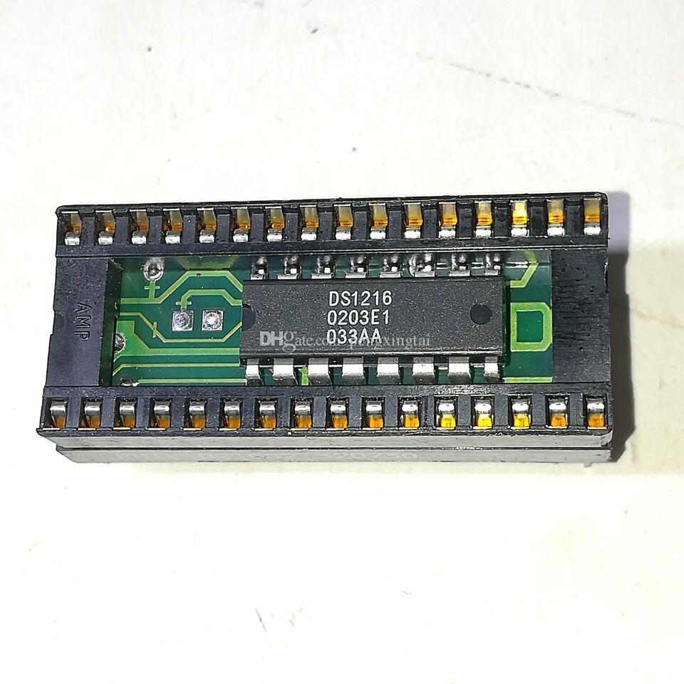 DS1216D. DS1216 Componentes electrónicos IC, cinturón de 32 pines Reloj en tiempo real Socket de RAM eléctrico