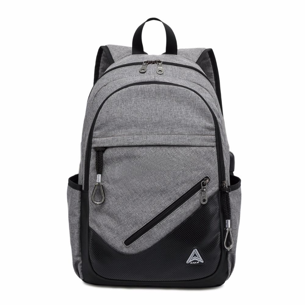 Wholesale- 2017 New Design Unisex Men Fashion Waterproof School Backpacks PU Leather Printing Women 15.6 inch Laptop Backpack Bags