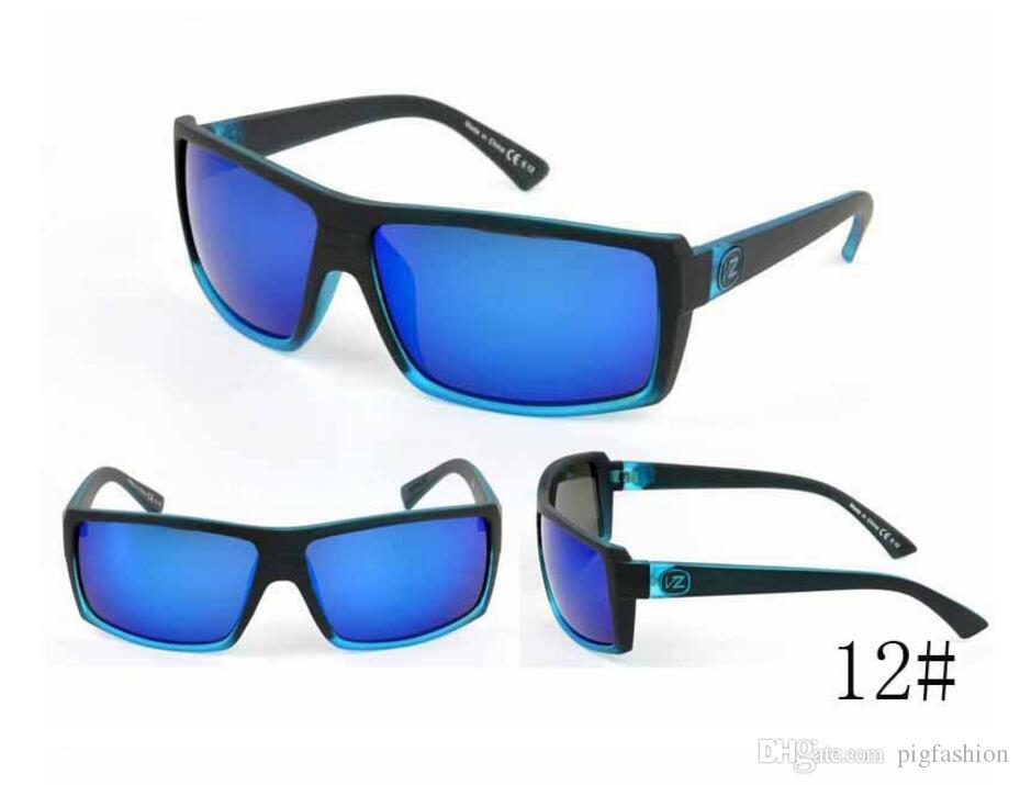 Estilo al por mayor-Verano Nuevas gafas de sol para hombres Gafas deportivas al aire libre Gafas de sol Moda para hombre Gafas para sol ewear Gafas Free Ship
