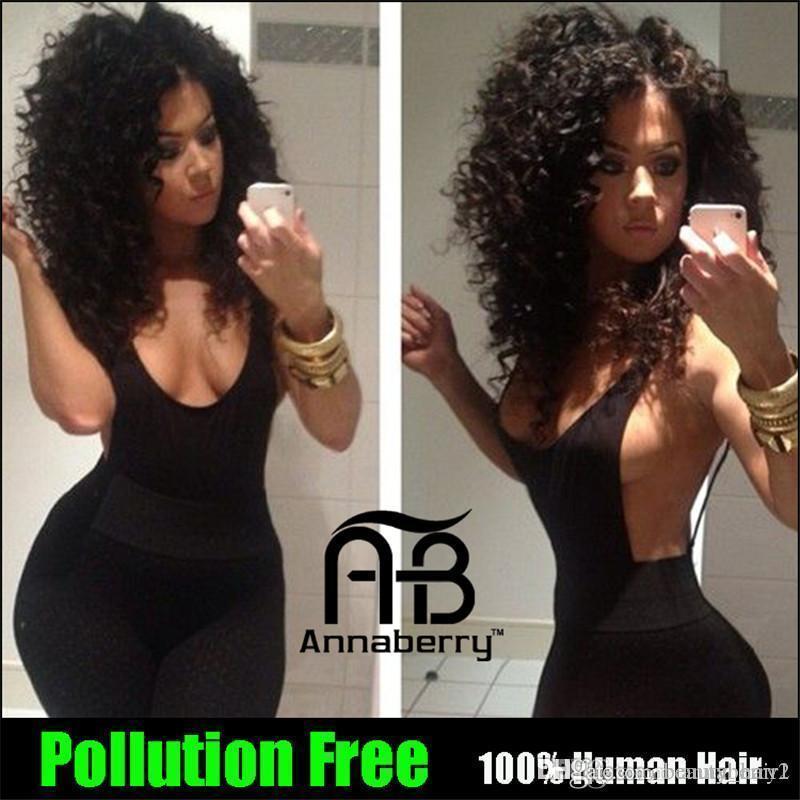 페루 인디언 말레이시아 몽골 캄보디아 브라질 딥 컬리 버진 위브 3,3,4,5,5Bundles 6A Kinky Curly Human Weave