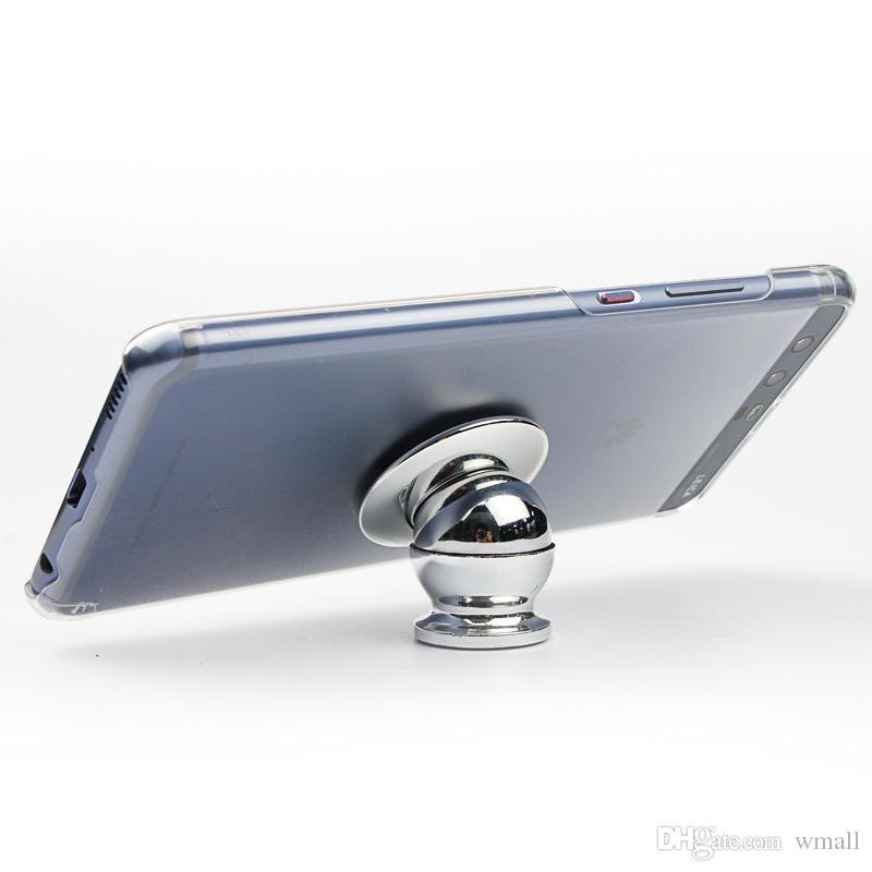 Support de téléphone portable Support magnétique 360 degrés téléphone magnétique Support de voiture Cadre de navigation de voiture Livraison gratuite