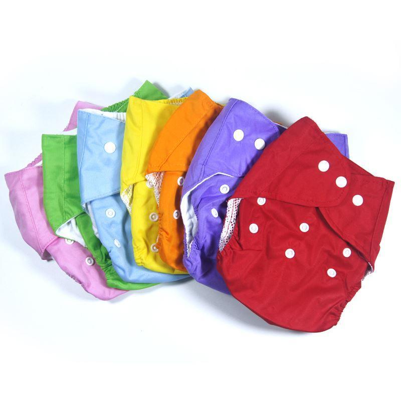 새로운 재사용 유아 유아 / 유아면 재사용 가능한 기저귀 기저귀 훈련 바지 팬티 소년 소녀 속옷 빨가리 fraldas