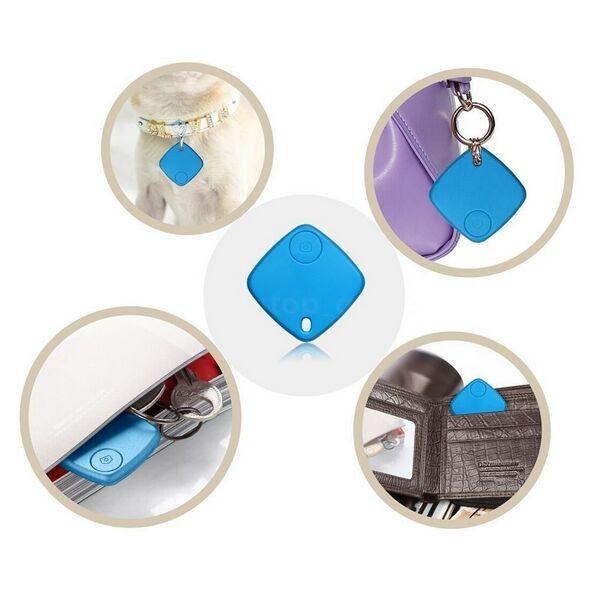 5 unid Etiqueta inteligente Inalámbrico Rastreador Bluetooth Bolsa de niño Monedero mascota Buscador clave Localizador GPS Anti-perdida de alarma Recordatorio