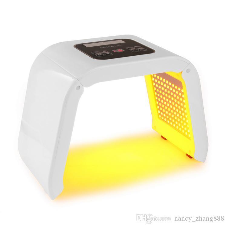 4 colori principali pdt bio-light terapia multifunzionale led macchina di terapia della luce viso pelle ringiovanimento bellezza macchina uso domestico DHL LIBERA nave