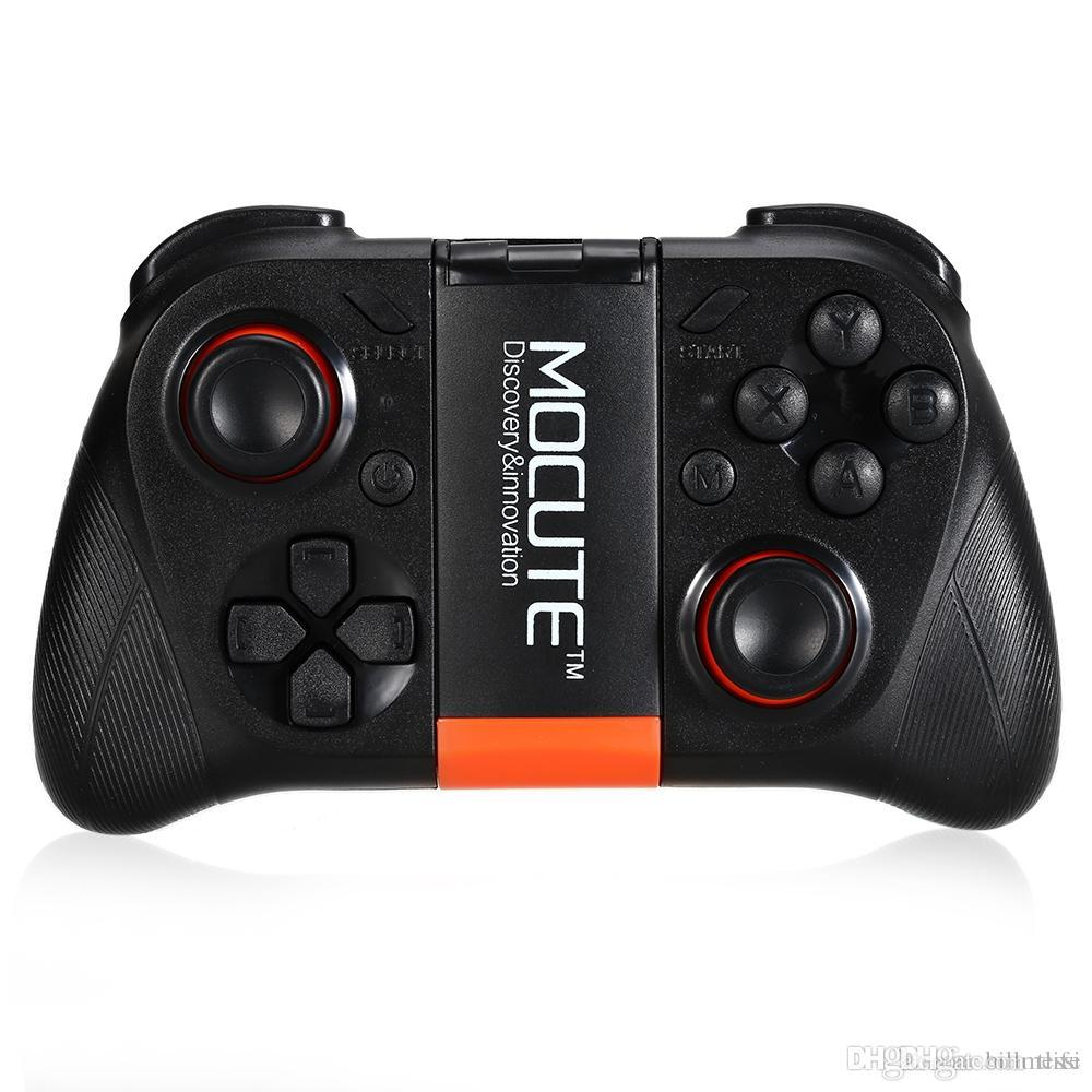 Original Controllers Wireless Bluetooth Gamepad PC Game Controller for Smartphone TV Box With Built-in Foldalbe Holder Joystick +NB