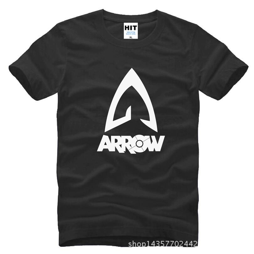 2018 new fashion Green Arrow Justice League Loose Printed Mens T-Shirt Fashion more fashion created by you