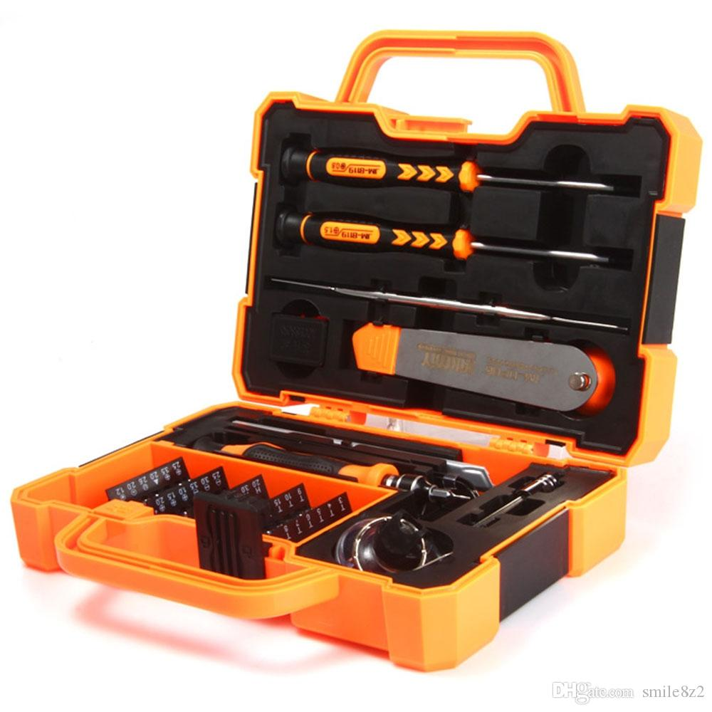 JAKEMY Professional Electronic Precision Screwdriver Set Hand Tool Box Set Opening Tools for Phone PC Repair Tools Kit +B