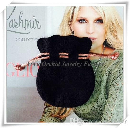 الجملة 20 قطع الحقائب المجوهرات مناسبة ل باندورا مربع مجوهرات أكياس تغليف الأساور الخرز سحر الحقائب