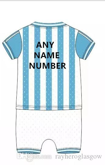 2018 Argentina Baby Clothes 2016 Home Red Custom Di Maria Messi