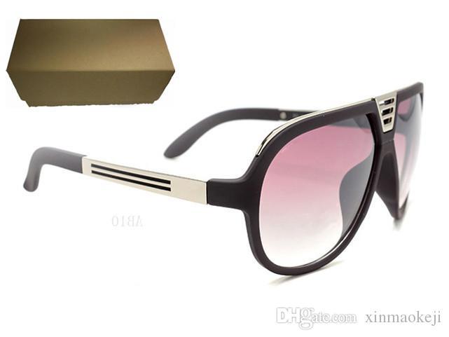 Weltbekannte Marke im Freien Glas Sonnenbrille für Männer und Frauen Sport unisex Sonnenbrille schwarz Rahmen Sonnenbrille versandkostenfrei