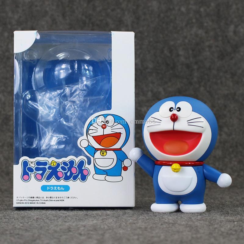 Anime Cartoon Doraemon Cat 10cm PVC Action Figure Model Toy for kids gift free shipping retail
