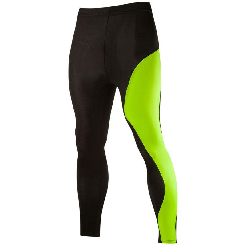 Toptan-Bi-rengi Patchwork Erkek Sıkıştırma Tayt Pantolon 2XL Pantolon Marka Erkek Joggers Sweatpants Giyim