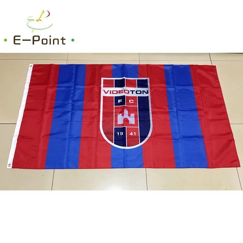 Венгрия Videoton FC Тип A 3*5ft (90 см*150 см) полиэстер флаг баннер украшения летающий дом сад флаг праздничные подарки