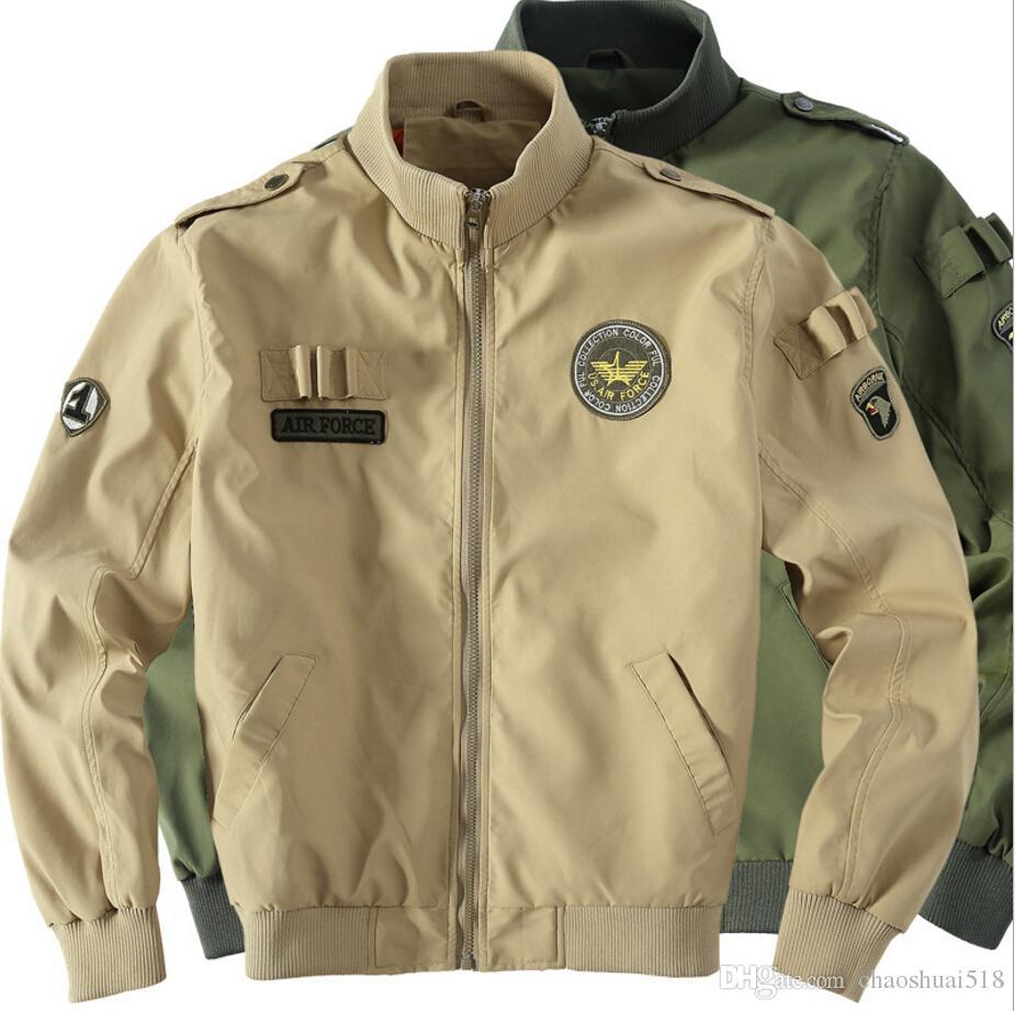 Nouvelle veste uniforme militaire Thin man han édition col veste, grands chantiers