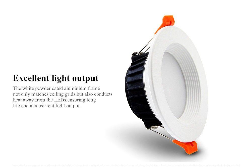 [DBF] AC85-265V LED Down lights 7W 10W 12W LED Downlight Warm whitecold white Led Ceiling Lamp Home Indoor Lighting bulb (2)