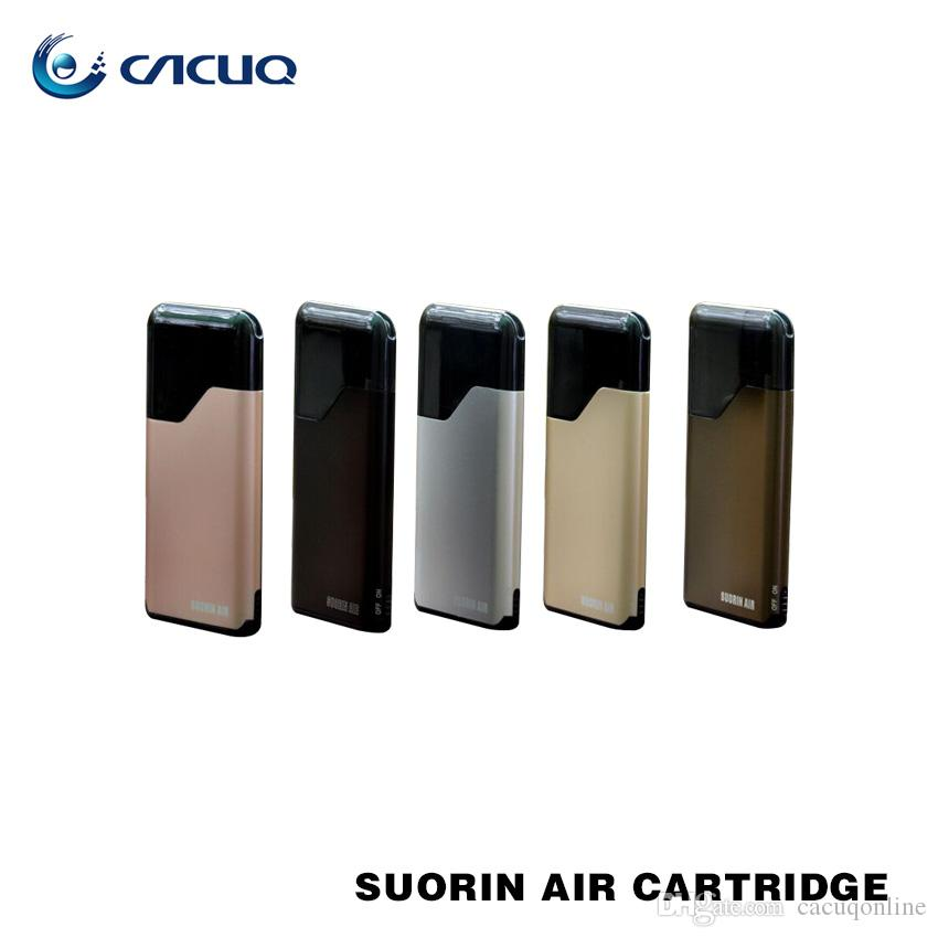 Authentic Suorin Air Starter Kits 16W 400mah Battery and 2ml Cartridge 100% Electronic Cigarette ecigs Kit