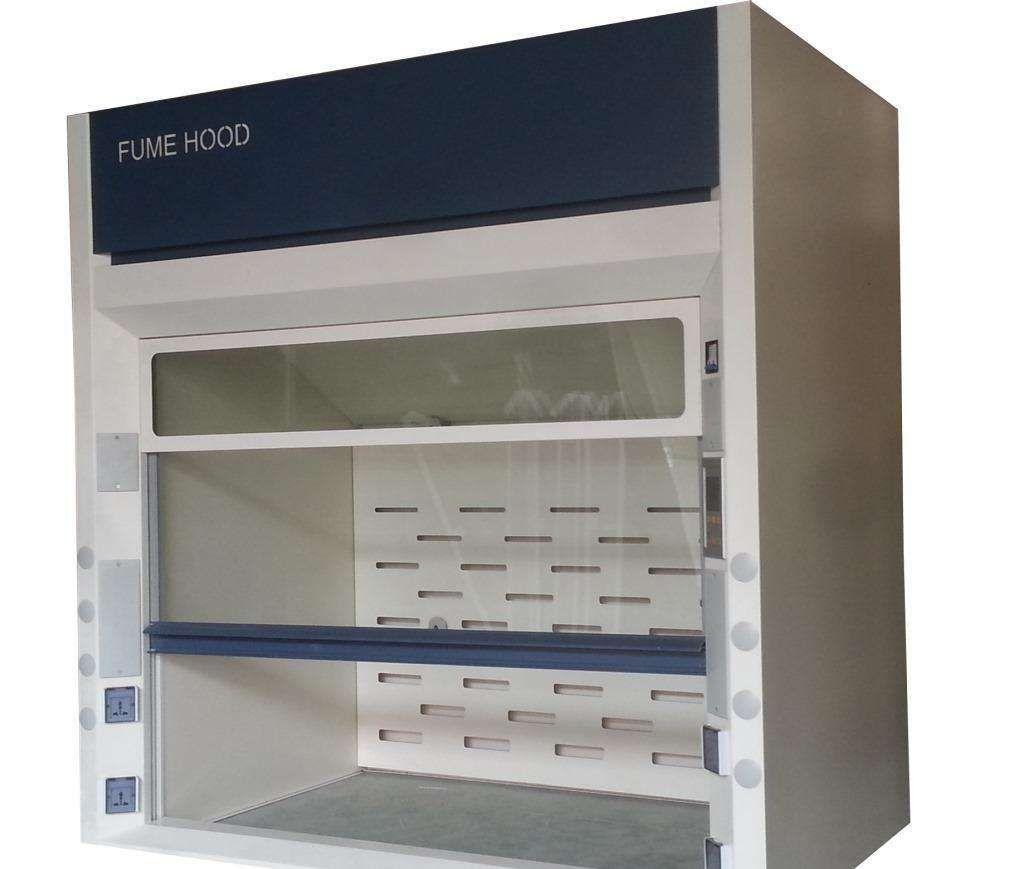 Le CE fumant d'armoire de laboratoire de bureau de long de 1500mm a diplômé tout le capot en acier de vapeur de laboratoire de Benchtop