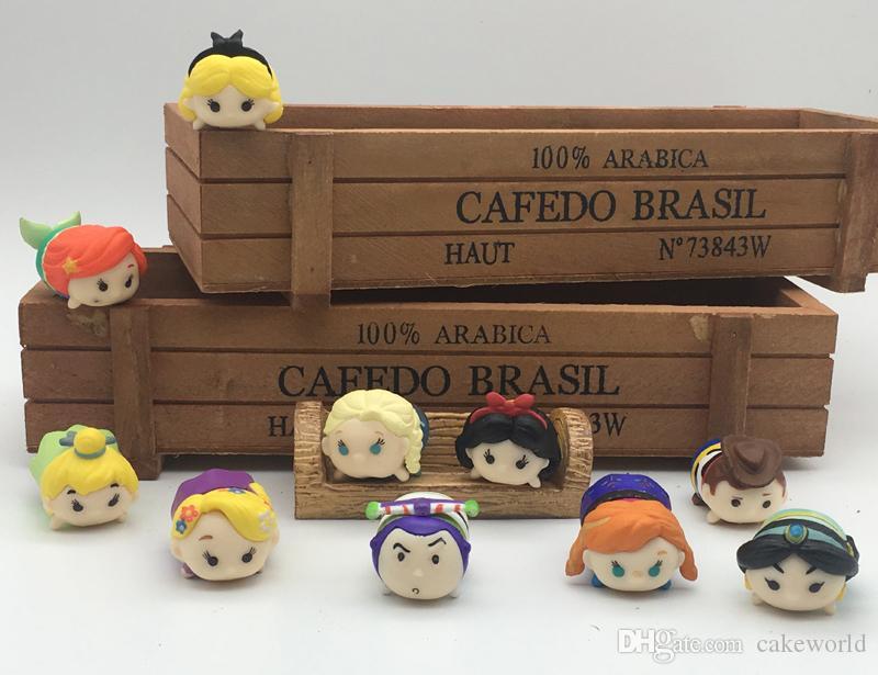 50 pezzi (5 set) baby principessa bonsai figurine in miniatura per terrari ornamento mini jardim antichi giocattoli casa delle bambole