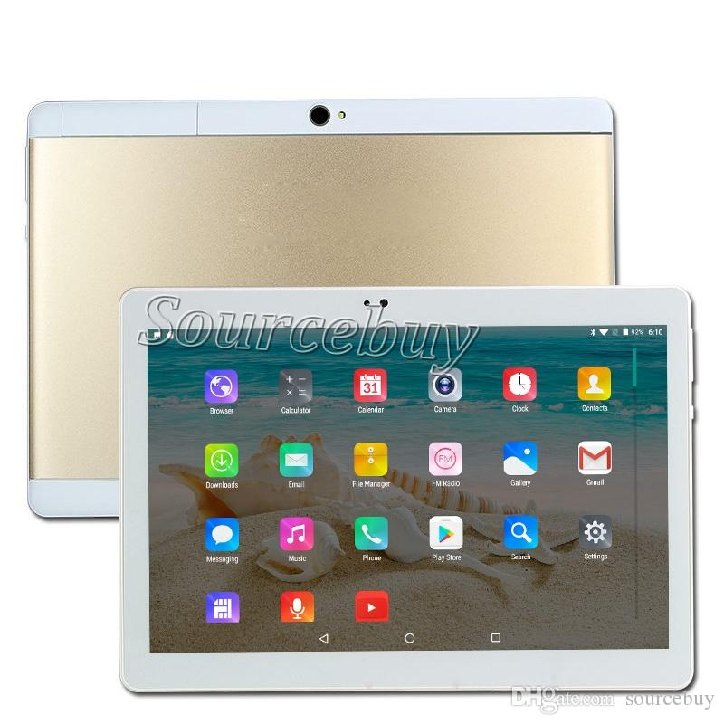 10 inch tablet PC Quad Core Android 4.4 1GB RAM 16GB ROM Dual SIM Cards IPS Bluetooth Wifi Phablet tablets DHL Free