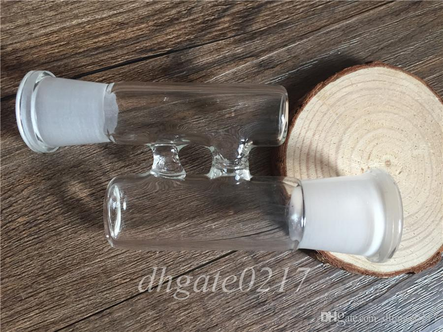 new style H glass adapter RECLAIM CATCHER ADAPTER 18mm 14mm male to female male to male female to female for water pipes Glass bongs