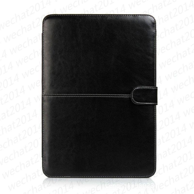 """Etui portefeuille en cuir PU Housse antichoc livre pour Apple Macbook Air Pro 11 '' 12 '' 13 """"15"""""""