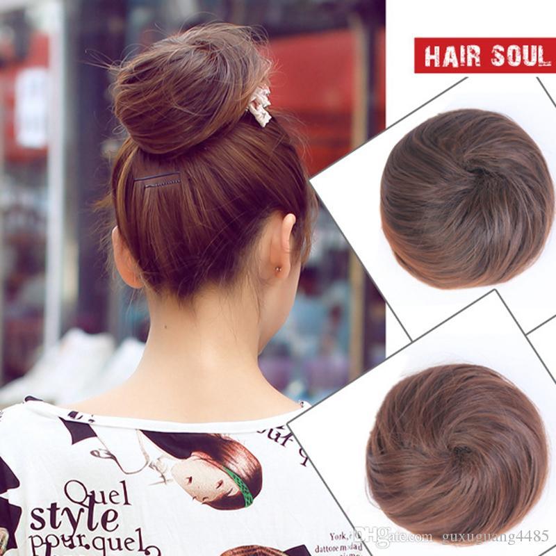 Foam Sponge Style Bun Former Hair Styling Maker Tool Clip Twist CA JG