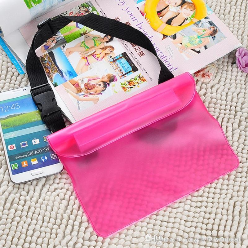 Para el paquete universal de la cintura Funda impermeable a prueba de agua Funda impermeable para teléfono móvil Teléfono móvil Teléfono inteligente Smartphone