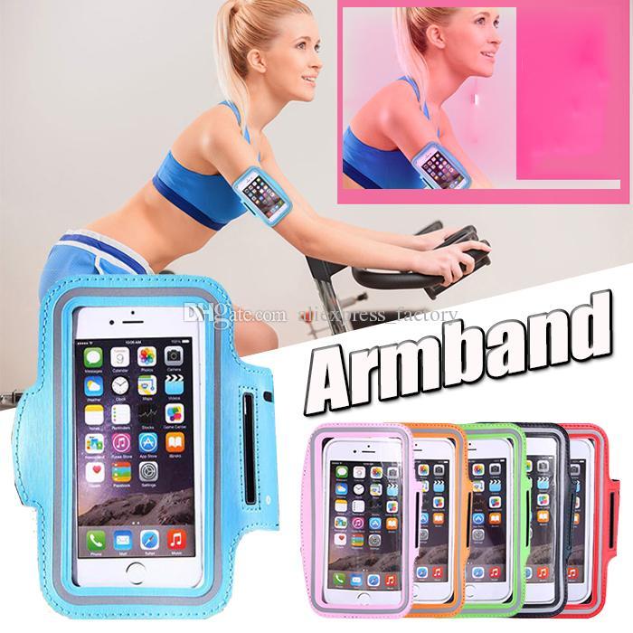 Esporte ginásio correndo braçadeira protector belt soft running bag sport arm band case para iphone xs max xr x 8 7 6 plus samsung huawei xiaomi sony