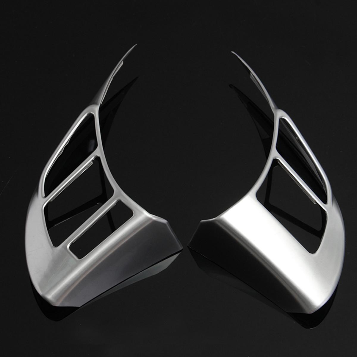 2шт хром панель рулевого колеса крышка знак вставки планки для MAZDA CX-5 6