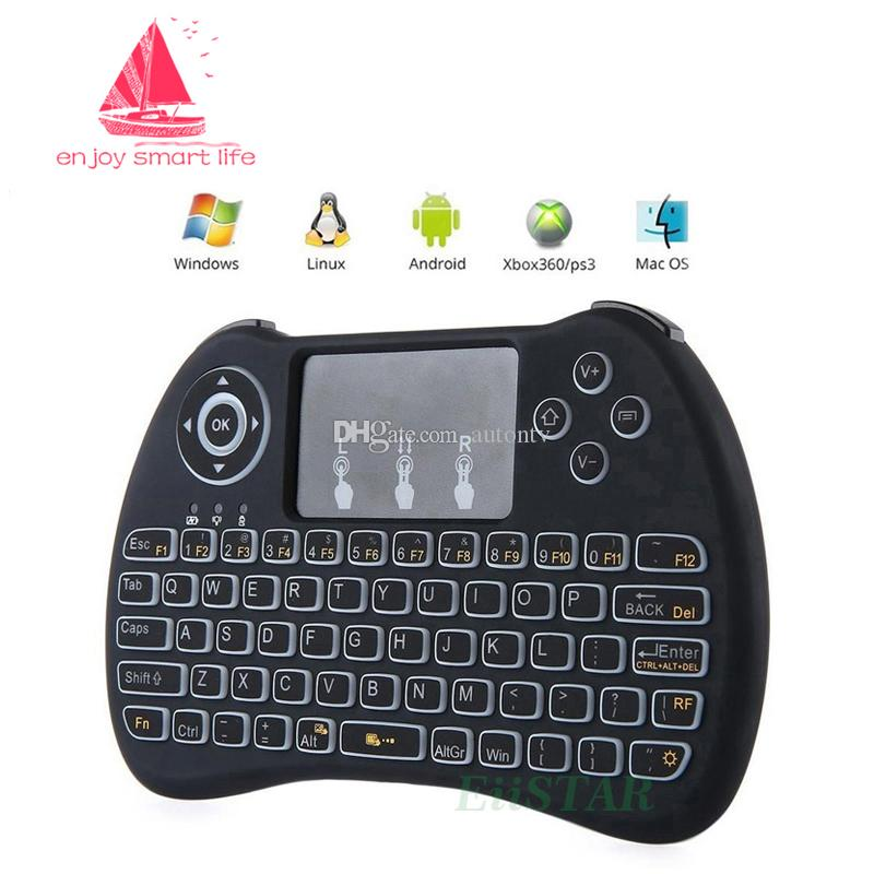 Mini Acklit Keyboard,Mini Wireless Keyboard with Touchpad Mouse Can Be Used As A Gamepad for PC Classic Game Handle Pattern Play All Kinds of Action Racing Game