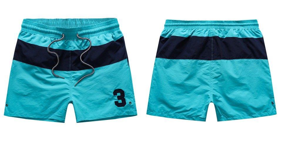 Toptan-Yaz Mayo Plaj Pantolon Erkek Kurulu Şort Erkekler Sörf Şort Küçük At Swim Sandıklar Spor Şort de bain homme ücretsiz kargo