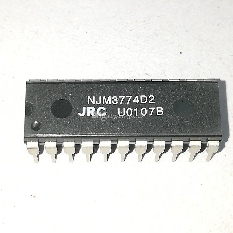 NJM3774D2 , dual in-line 22 pins dip plastic package . PDIP22 / STEPPER MOTOR CONTROLLER integrated circuits ICs , JRC Electronic Components