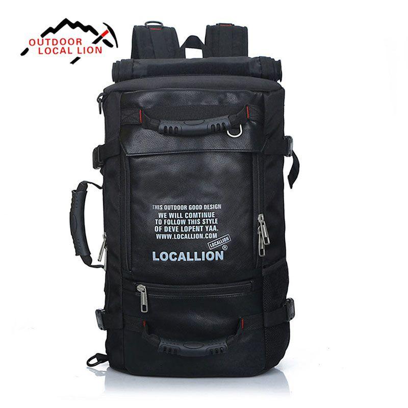 45L Gran Capacidad de Deporte Al Aire Libre Multifunción Bolsa Impermeable Profesión Montañismo Escalada de Viaje Que Acampa Senderismo Mochila 501