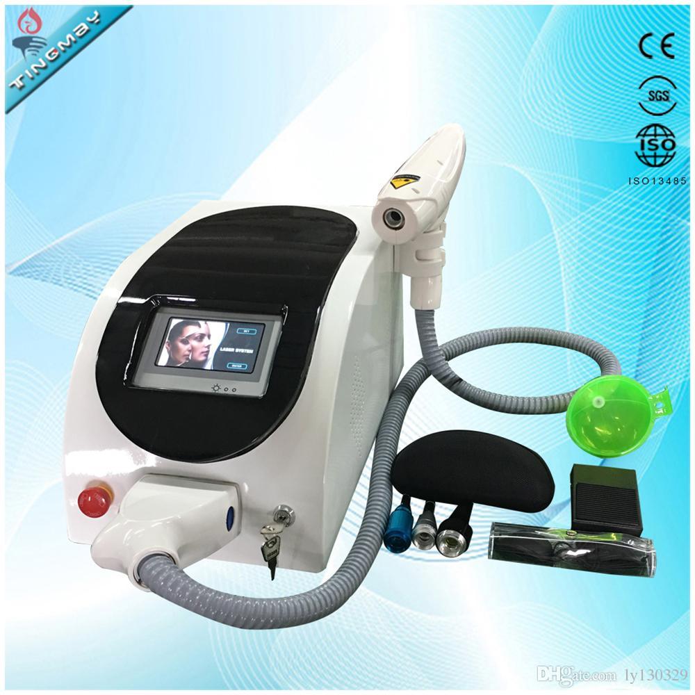 Beste Kwaliteit Nieuwste ND YAG Laser Beard Tattoo Removal Beauty Salon Machine