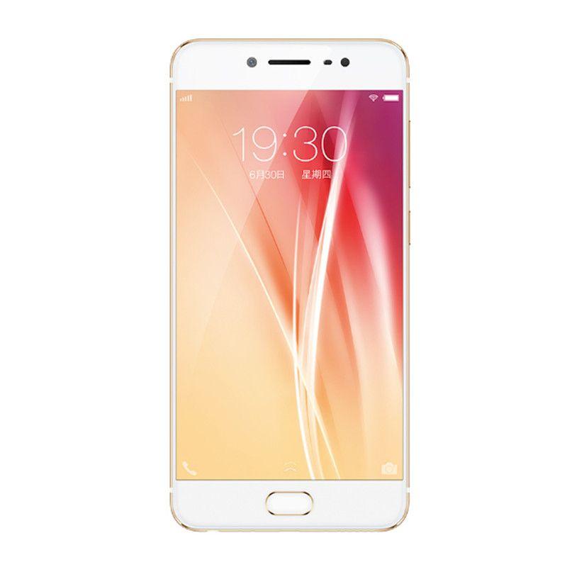 Oryginalny Vivo X7 4G LTE Telefon komórkowy 4 GB RAM 64 GB ROM Snapdragon 652 OCTA Core Android 5.2 cal 16.0mp Fingerprint ID OTG Smart Telefon komórkowy