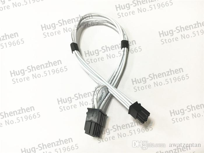 Mini 6pin zu pcie 8pin 8 pin video karte stromkabel unterstützung für Mac pro G5 GTX480 gtx680--10pcs / lot
