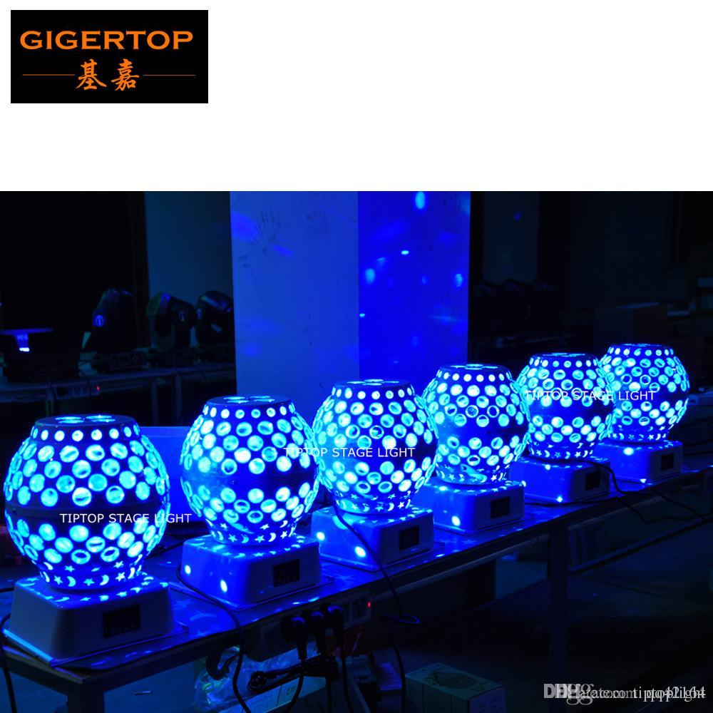 Freeshipping 20 Unit Led Lantern Stage Effect Light Moon Star Gobo Rotation Mini Roof Mounting Club Effect Light Cheap Price