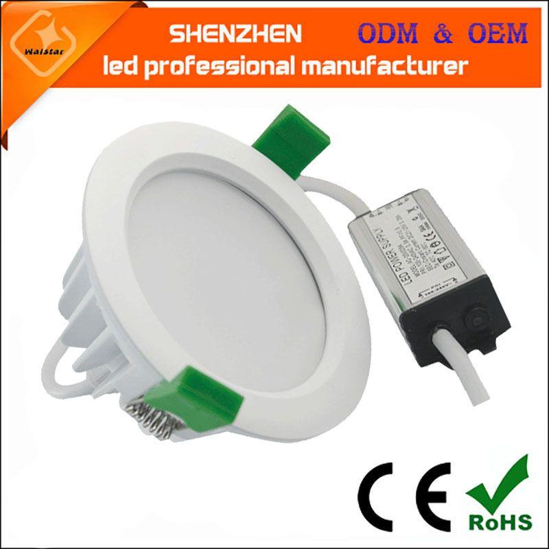 Wodoodporna IP65 LED Downlight 24W 18W 15W 12W 9W 7W SMD5730 Wpływ LED Down Light Saa TUV ul LED Lampa sufitowa