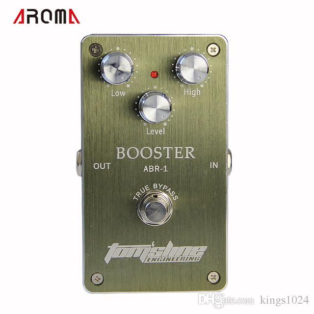 NUOVA CHITARRA Pedale / Aroma Premium Effect Pedal ABR-1 Booster Adattatore AC / DC