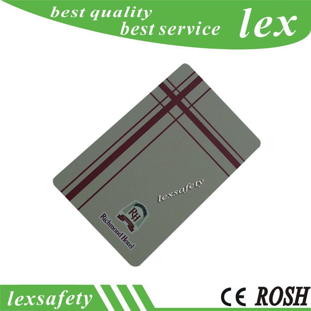 Haute qualité TK4100 cartes d'identité imprimables 125Khz ISO11785 imprimer des cartes d'identité en plastique pour le contrôle d'accès de porte