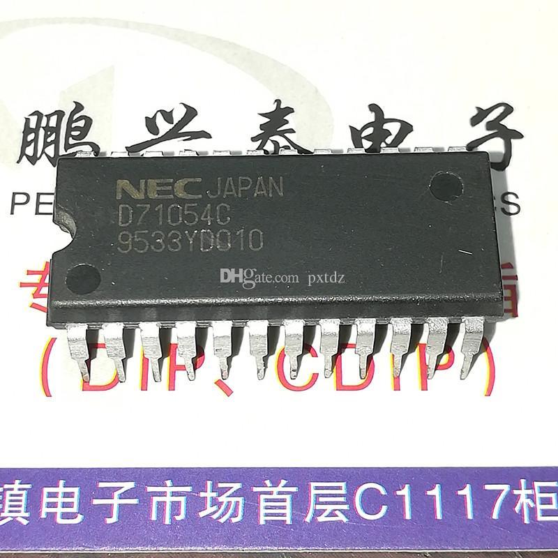 D71054C. D71054C-10. UPD71054C, 3 TIMER (S), PROGRAMMABLE TIMER 집적 회로 IC, 듀얼 인라인 24 핀 플라스틱 패키지 칩. PDIP24