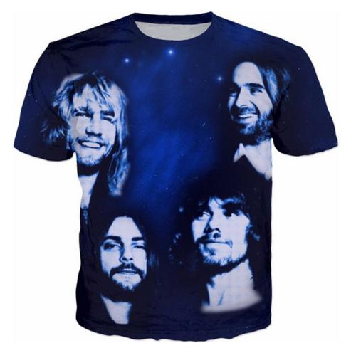 Status Quo Date Mode Mens / Womans T-Shirt D'été Style Drôle Unisexe 3D Imprimer Casual T-Shirt Tops Plus La Taille AA261