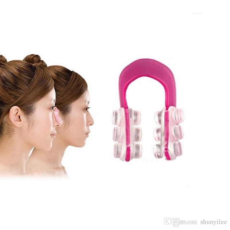 Fashion Nose Up Shaping Shaper Lifting Bridge Straightening Beauty Nose Clip Face Fitness Facial Clipper Corrector ZA1941