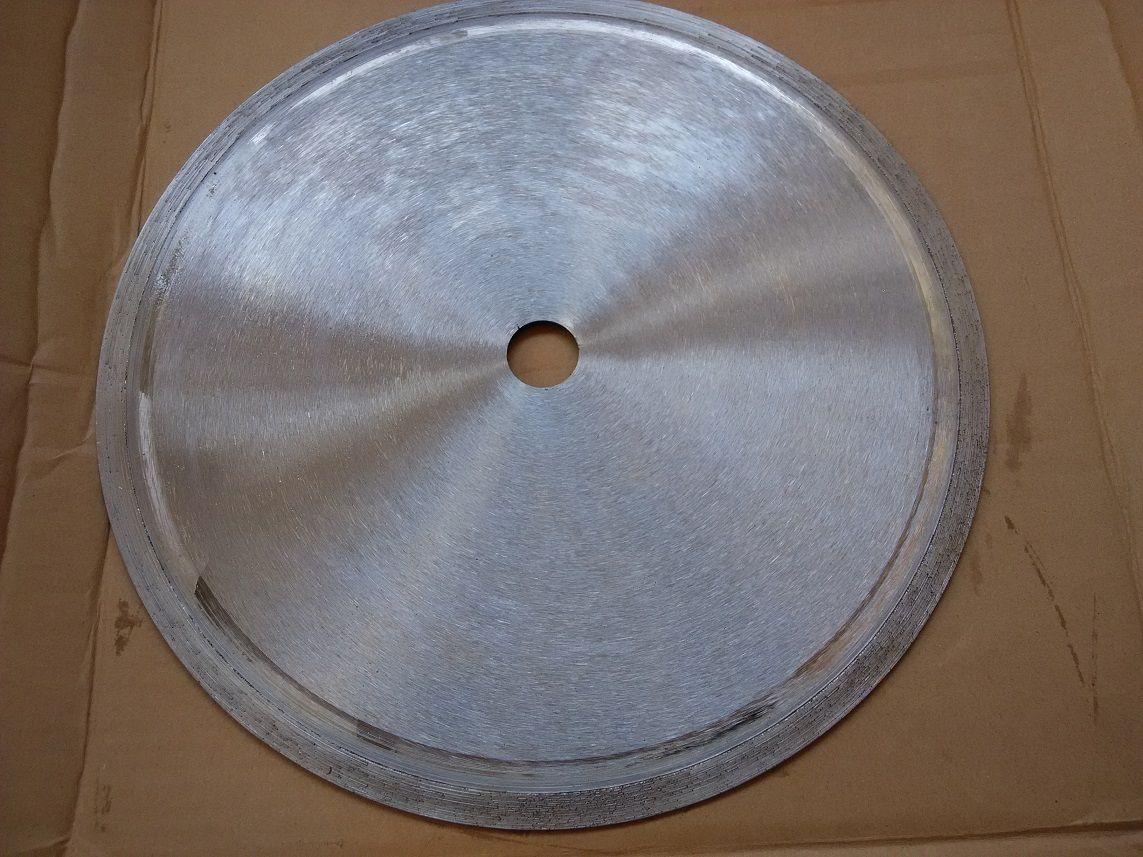Diamanttrennscheibe-Kreissägeblatt für Glas / Jade usw. Geben Sie Schiff 110 * 20mm frei