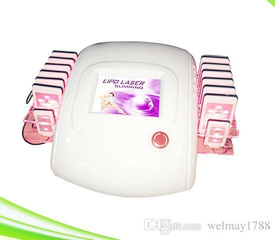 Taşınabilir lipolase lipo ışık led lazer vücut zayıflama lipo ışık lazer cihazı