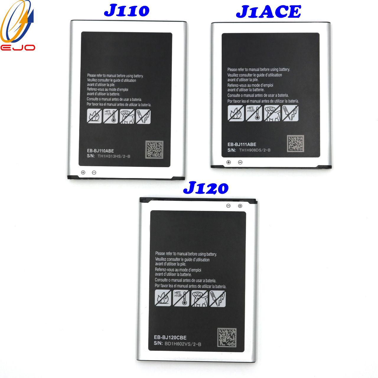 Yüksek kaliteli cep telefonu batarya tedarikçisi J111 pil, samsung Galaxy J1ACE / J110 / J120 pil Akku 50pcs
