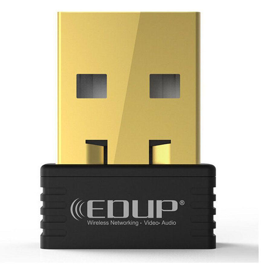 Original EDUP 150 Mbps Adaptador USB inalámbrico Tarjeta Networkd MTK 7601 Chipset Directo Nano USB Adaptador Wifi Nueva llegada EP-N8553